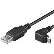 Cavo USB A Maschio a MICRO B Maschio Angolato 1,8m