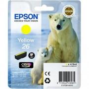 Kazeta EPSON XP-600/700 T2614 26 Claria Yellow