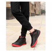 Zapatos De Baloncesto Para Hombre TENIS ZAPATILLAS Calzado Deportivo -Negro