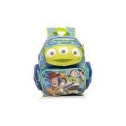 Mochila De Costas Infantil M E.t Azul E Verde Toy Story Dermiwil