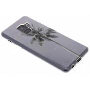 Palmtree design TPU hoesje voor de Samsung Galaxy A8 (2018)