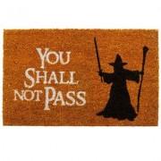 getDigital Fussmatte You shall not pass