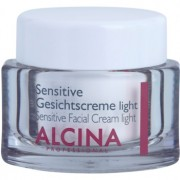 Alcina For Sensitive Skin crema facial suave para calmar y fortalecer pieles sensibles 50 ml