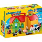 1 2 3 Set Mobil Ferma Playmobil