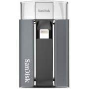 SanDisk SDIX-128G-P57 128 GB OTG Drive(Multicolor, Grey, Black, Type A to Lightning)