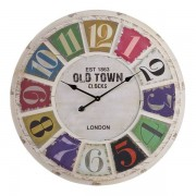 Oak Furnitureland Clocks - Havana Wall Clock - Oak Furnitureland
