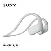 Auriculares Deportivos Bluetooth Sony NW-WS623 4GB - Gris Claro