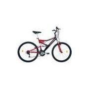 Bicicleta Houston Aro 26 Stinger 21 Marchas - Preto / Vermelho