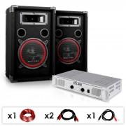 DJ15 Set audio professionale 1amplificatore 2casse
