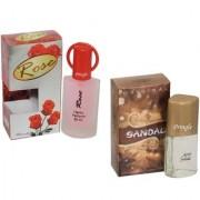 Skyedventures Set of 2 Rose 30ml-Sandel 20ml perfume