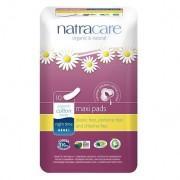 Absorbante bio Natracare maxi de noapte (4 picaturi), 10 buc
