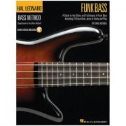 Hal Leonard Bass Method - Funk Bass Lehrbuch