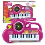 Детски електронен синтезатор 22 клавиша и светеща топка I Girl, 191357