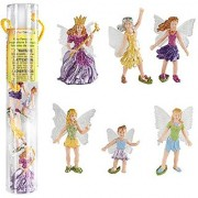 Safari Ltd Fairy Fantasies Toy Figurine Toob Including 6 Winged Fairies (Discontinued By Manufacturer)