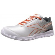 Reebok Men's Country Plus Lp Gravel, Steel, Paprika and White Sport Shoes - 10 UK