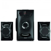 Philips MMS2143B/94 40 W Bluetooth Home Audio Speaker (Black, 2.1 Channel)