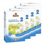 Holle 4 x Bio-Folgemilch 2 auf Ziegenmilchbasis nach dem 6. Monat (4x400g)