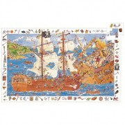 Puzzle observatie Djeco Pirati
