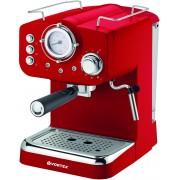 Espressor manual Vortex VO4016 Rezervor apa 1.25 L 1100 W 15 bari Filtru inox Functie spumare lapte Rosu