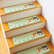 可愛いペットの階段マット ベルーナ