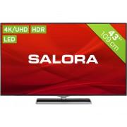 Salora 43UHX4500 Tvs - Zwart