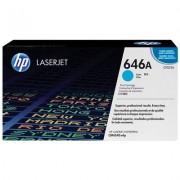 HP 646A cyan LaserJet-tonerkassett, original