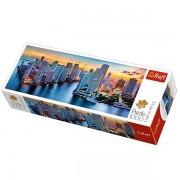 Trefl Puzzle Slagalica Panorama Miami After Dark 1000 kom (29027)