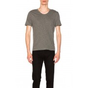 Alexander Wang Classic Low Neck Tee in Gray. - size L (also in M,S,XL)