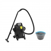 Wet/Dry Vacuum Cleaner - 1,000 W - 20 L