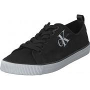 Calvin Klein Jeans Dora Canvas Black, Skor, Sneakers & Sportskor, Låga sneakers, Svart, Dam, 39