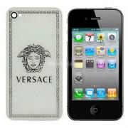 iPhone 4S Bakstycke Versace (Vit)