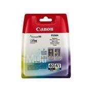 Canon Multipack PG-40(preto) + CL-41(cores)