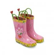 Melissa & Doug - Cizme de ploaie pentru copii Bella Butterfly, marime 21-23