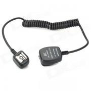 OC-E3 JJC Compatible FC-E3 EOS TTL Dedicado cable fuera de la camara de calzado para Canon