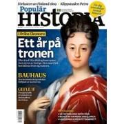 Tidningen Populär Historia 3 nummer