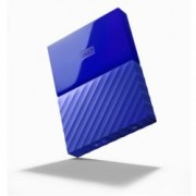 "4TB Western Digital MyPassport, външен, 2.5""(6.35cm), USB 3.0, син"