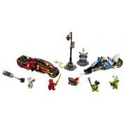 LEGO Vehiculele lui Kai și Zane - Motociclete Blade și snowmobilul