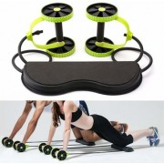 Nucleya Retail Revoflex Rubberised Body Fitness Exercise Home Gym Exerciser Multi Colour
