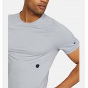 Under Armour Men's UA RUSH Short Sleeve Gray XL
