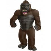 Disfraz inflable King Kong adulto Única