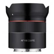 Pachet Samyang Obiectiv Foto Mirrorless 18mm F2.8 AF Sony FE+Manfrotto Filtru UV