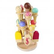 Legler Set dřevěných zmrzlin na hraní se stojanem Legler Ice Stand