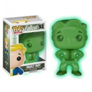 Fallout - Figurine Pop Vault Boy Exclu Glow in the Dark 9cm - Autres figurines et répliques