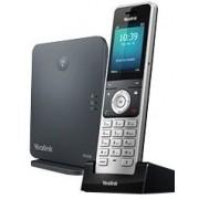 YEALINK W60P - Draadloze VoIP-telefoon - IP-DECTGAP - SIP, SIP v2 - 8 lijnen - W60B basisstation + W56H handset