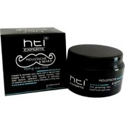 HTI moustache beard styling wax in black color jar