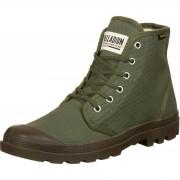 Palladium Pampa Hi Schuhe oliv Gr. 36,0