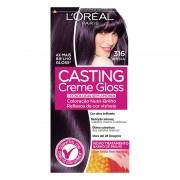 Tintura Loreal Casting Creme Gloss 316 Ameixa