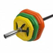 Set greutati fitness Dayu Fitness Pump 20 Kg