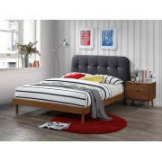 SomProduct Lit adulte Frida Dark Grey