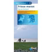 Fietskaart 03 3 Friesland Zuid - Friese Meren - Kop van Overijssel | ANWB Media